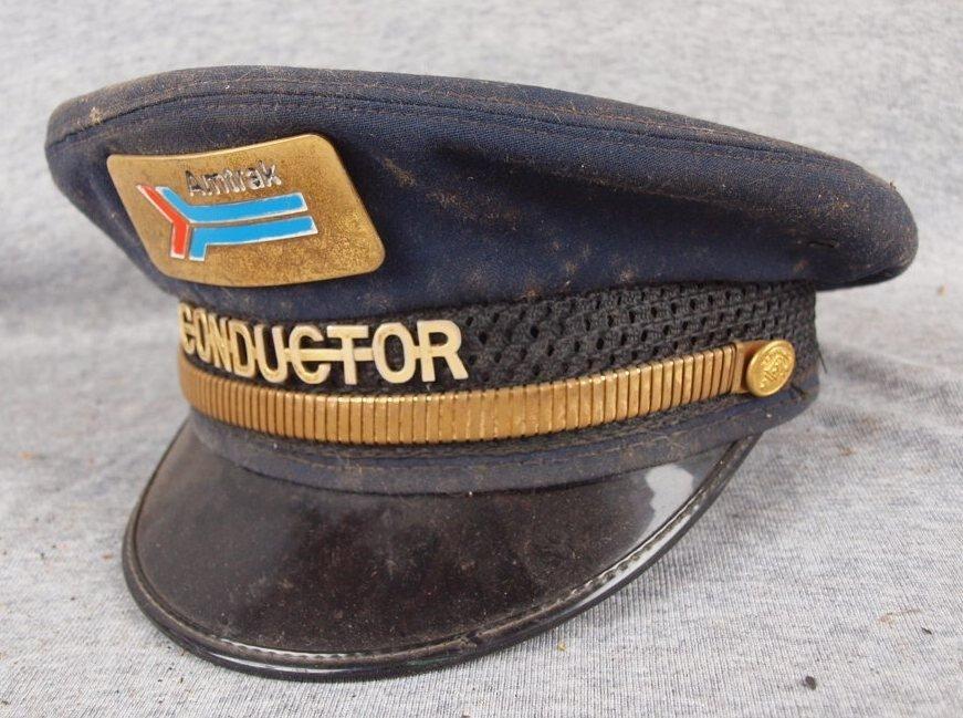 361: Amtrak Conductor uniform hat