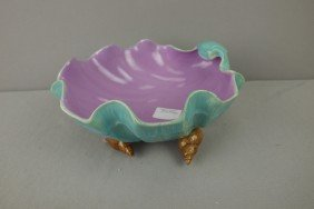 """HOLDCROFT Shell Bowl With Shell Feet, 9""""d"""