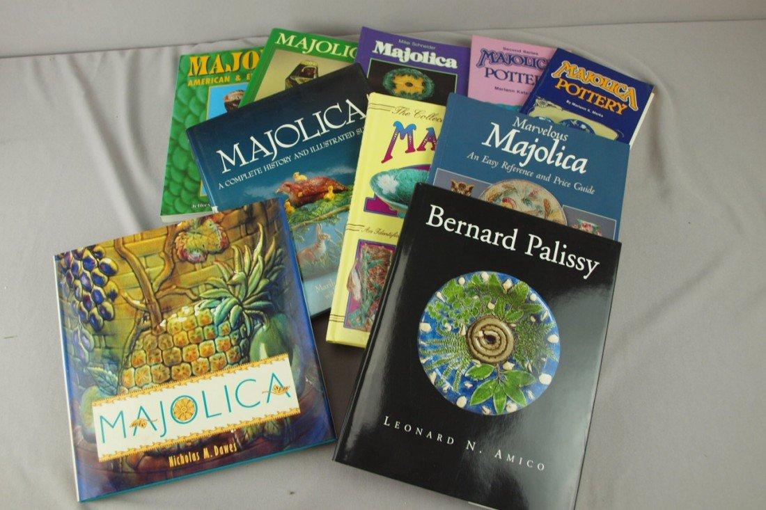 "234: Majolica lot of 11 reference books including ""Bern"