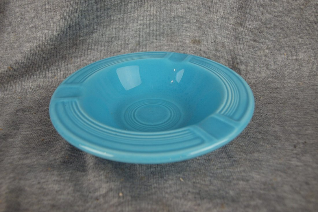516: Fiesta ashtray, turquoise