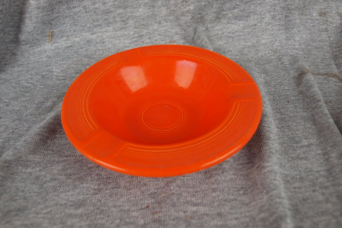 519: Fiesta ashtray, red