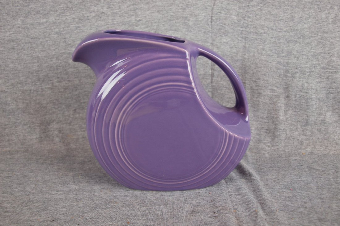2: Fiesta Post 86 Lilac disc water pitcher