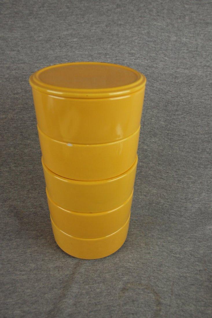 506: Fiesta Kitchen Kraft yellow   stacking set, yellow
