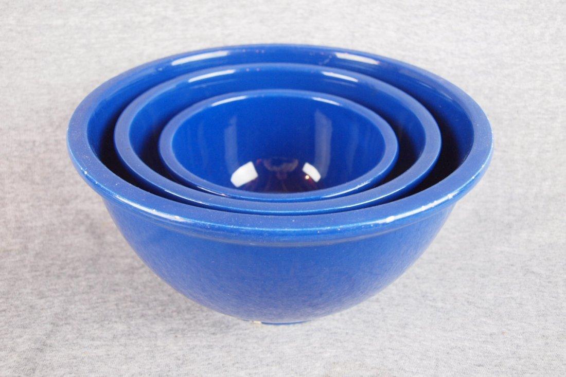 514: Fiesta Kitchen Kraft 3 piece   mixing bowl set, co