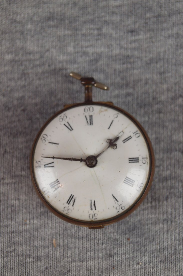 9:  Jn Dwerrihouse London very early pocket watch #535,