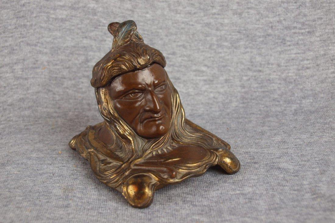 20: Metal Indian inkwell