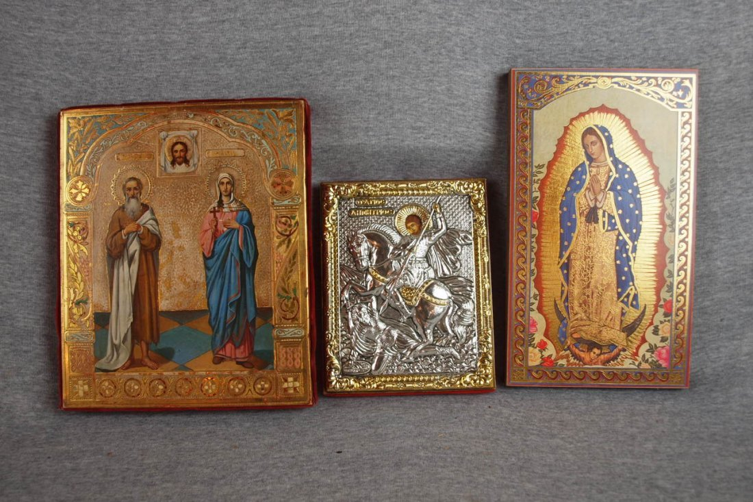 1374: Lotof 3 Russian Icons
