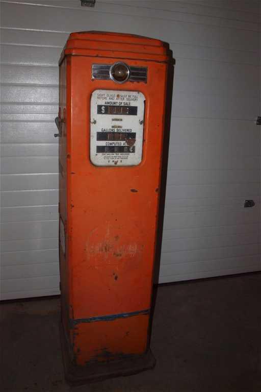 Erie Model 129 22 Gas Pump Sn Lb16717 Gulf Gas Pump