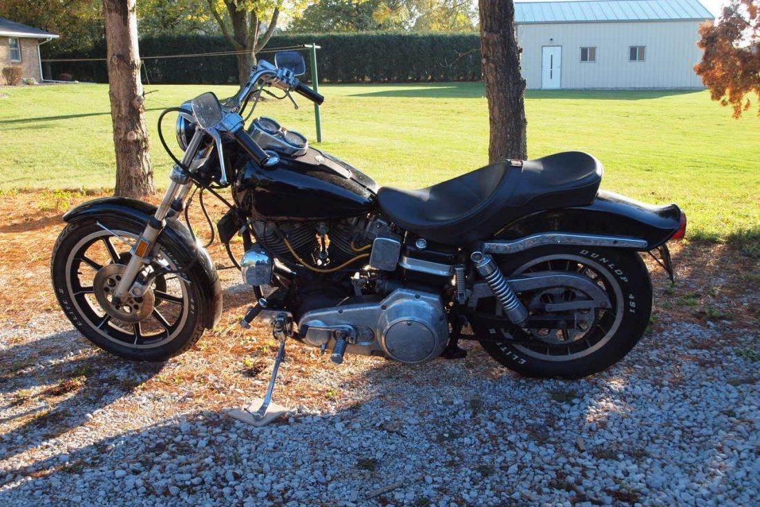 1973 Harley Davidson Super   Glide motorcycle, 10/1   p