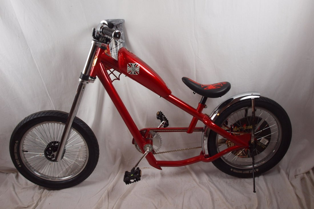 West Coast Choppers Jesse James Stingray bicycle, new