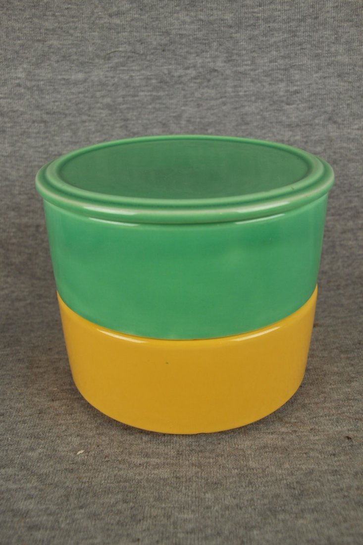 FIESTA KITCHEN KRAFT STACK SET WITH GREEN LID AND ONE