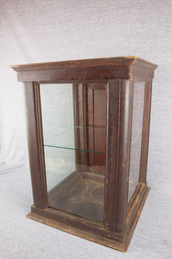 """General store counter top   display case, 18 1/2""""h, 13"""