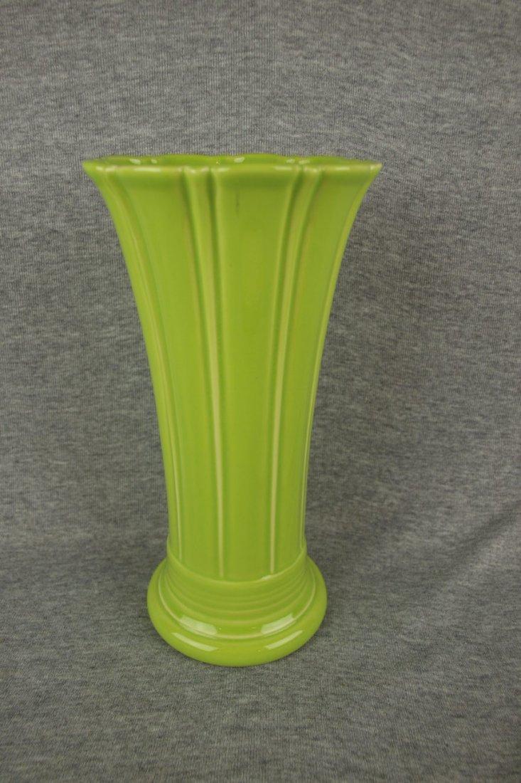 Fiesta Post 86 medium vase, chartreuse