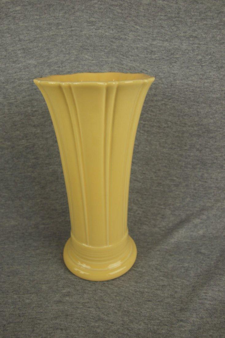 Fiesta Post 86 medium vase, yellow