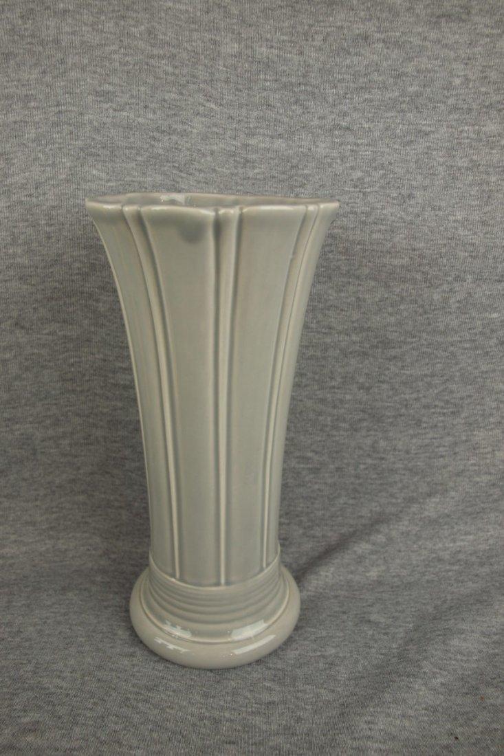 Fiesta Post 86 medium vase, gray