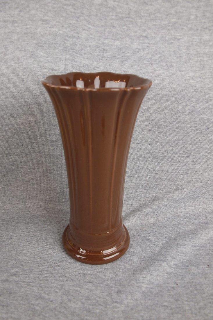 Fiesta Post 86 medium vase, chocolate