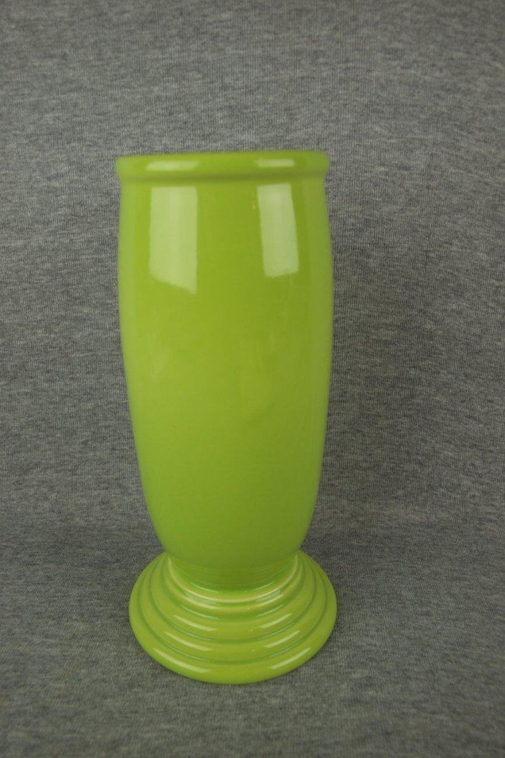 Fiesta Post 86 Mellinnium III vase, chartreuse