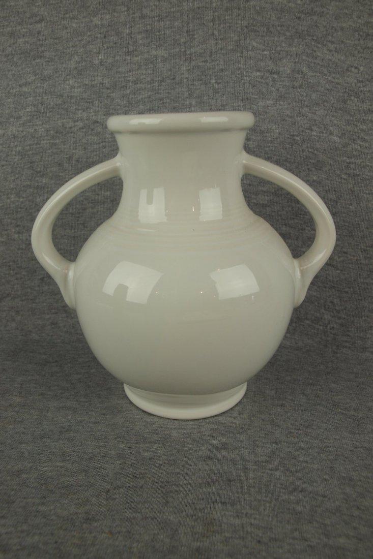 Fiesta Post 86 Millennium vase, white