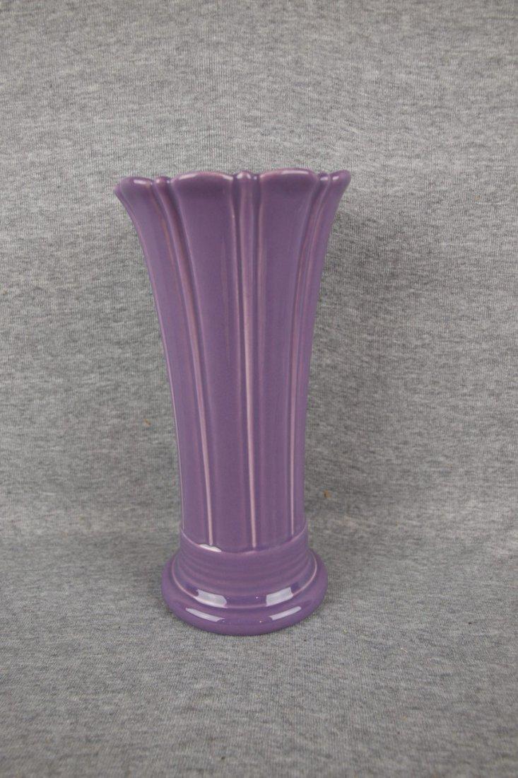 Fiesta Post 86 lilac medium vase
