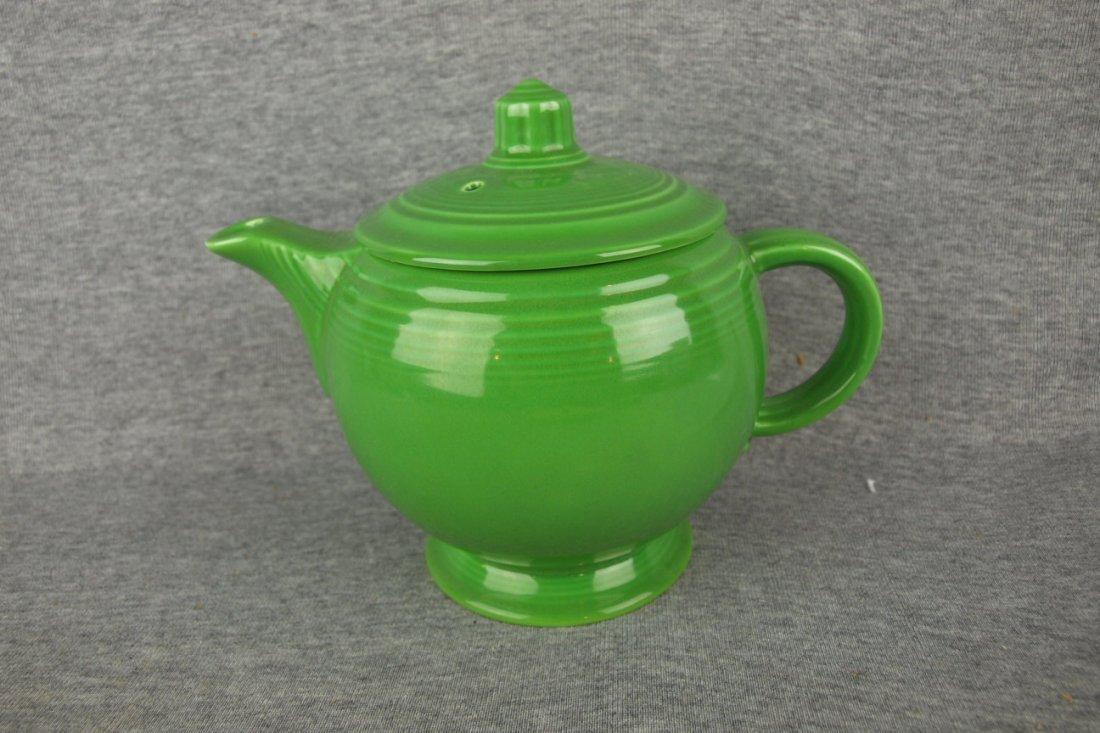 Fiesta medium teapot, medium green