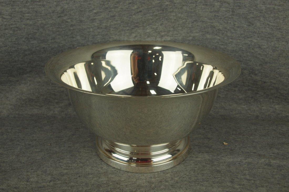 "Sterling silver bowl, 8"", 14.4 oz"