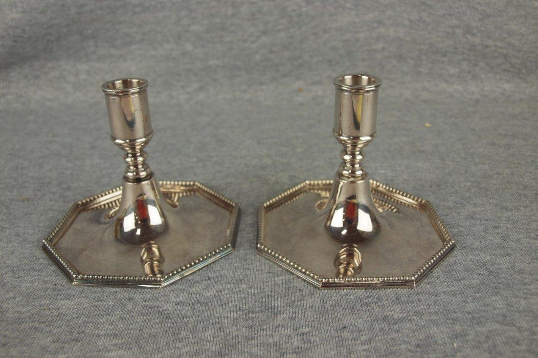 Tiffany & Co Denmark Danish Modern pair of sterling