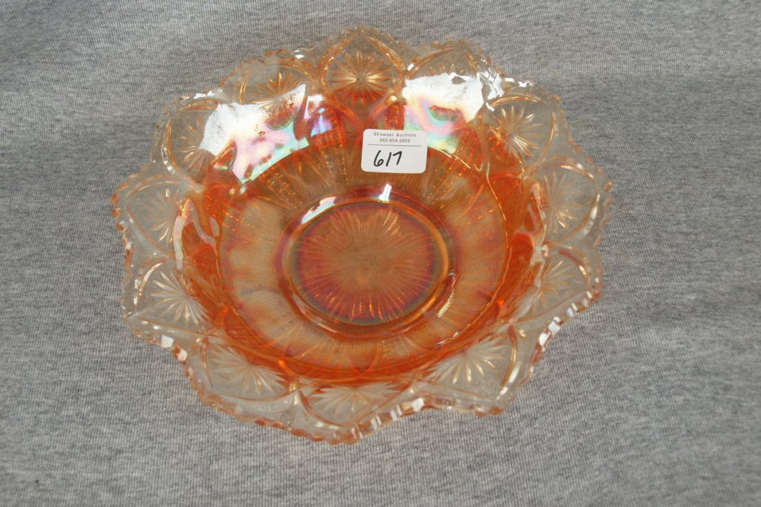 Millersburg marigold carnival glass Country Kitchen