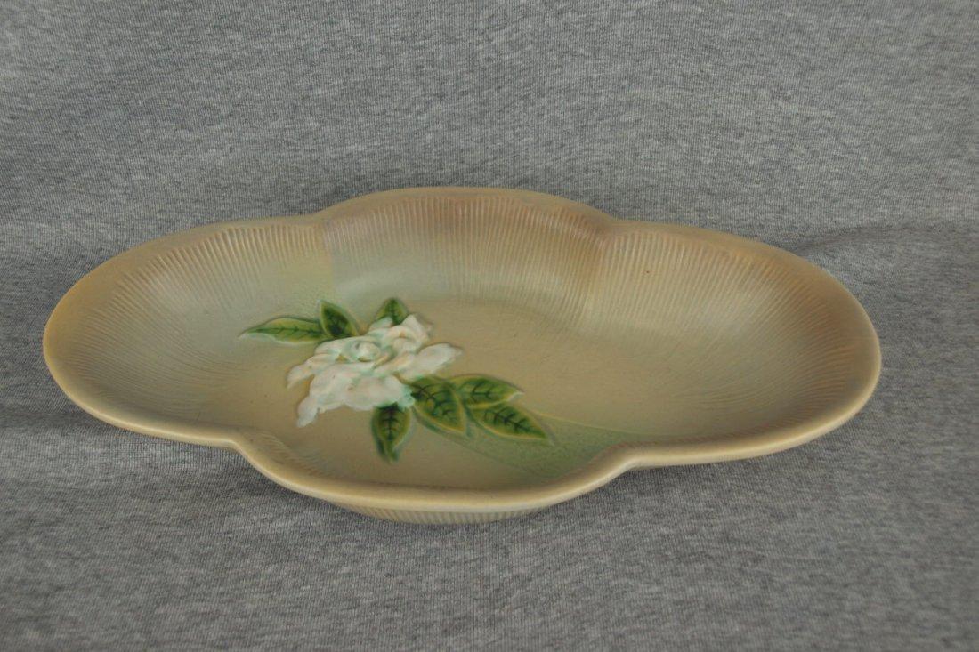 Roseville gray Gardinia console bowl, 631-14