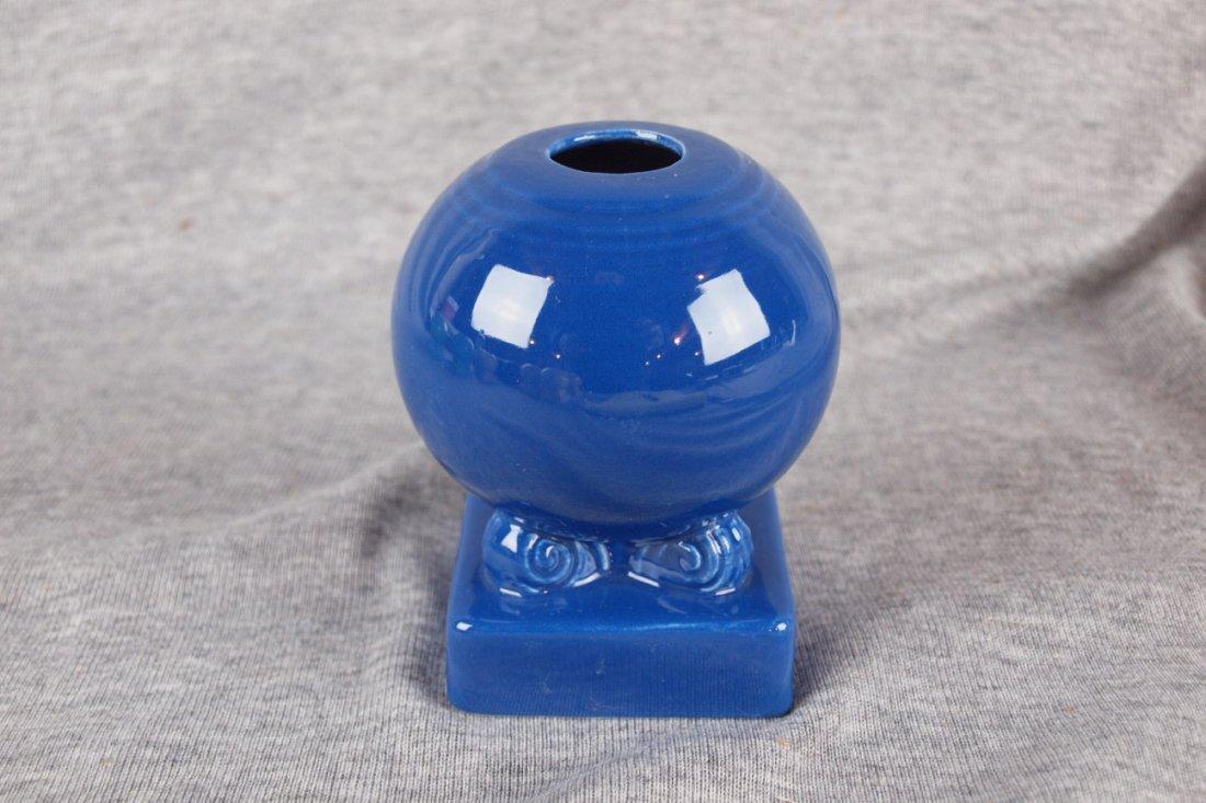 Fiesta single candle holder, cobalt