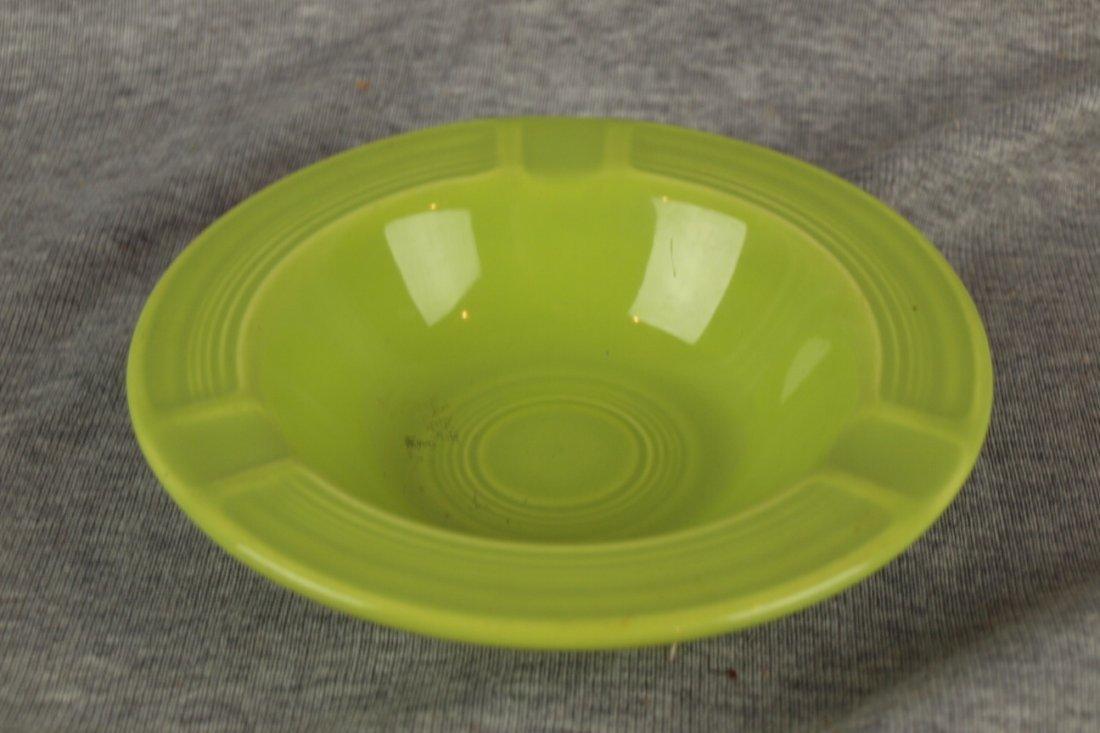 Fiesta ashtray, chartreuse