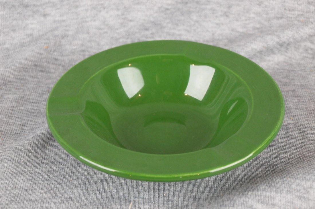 Fiesta ashtray, dark green