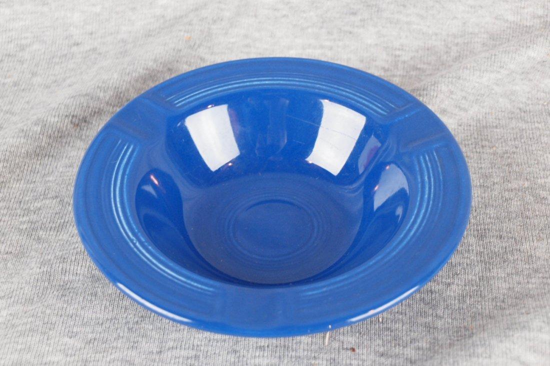 Fiesta ashtray, cobalt