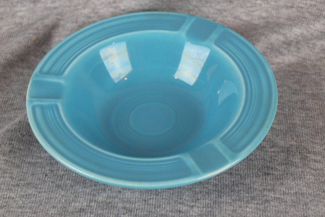 Fiesta ashtray, turquoise