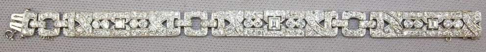 Important platinum & diamond lady's 1920's Art Deco