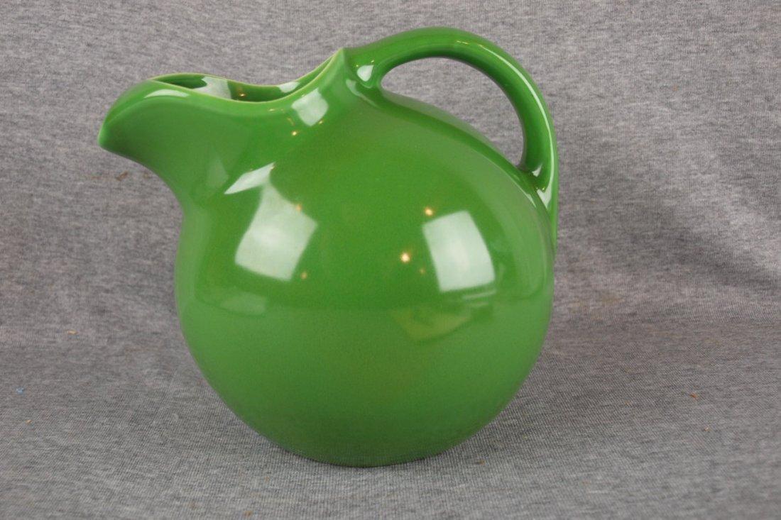 RARE Harlequin service water jug, medium green