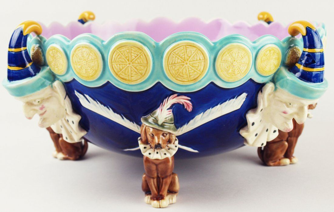 An extremely rare and whimsical Wedgwood Majolica 'Mr.