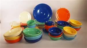 FIesta 48 piece set: original 6 colors, 8 piece place