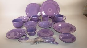 Fiesta Post 86 Lilac 16 Piece Place Setting
