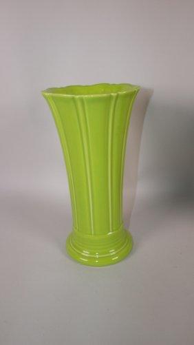 Fiesta Post 86 Chartreuse Medium Vase