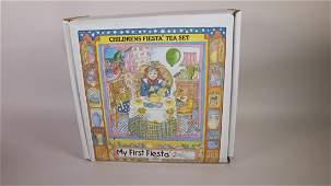 Fiesta Post 86 My First Fiesta Childs tea set, NIB
