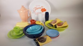 Fiesta Post 86 Lot Of 19 Assorted Pieces