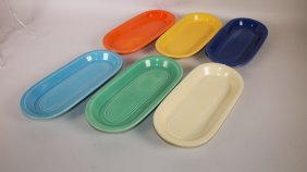 Fiesta Utility Tray Group: All 6 Original Colors Minor