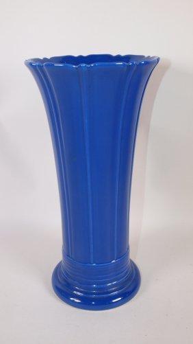 "Fiesta 12"" Flower Vase, Cobalt"