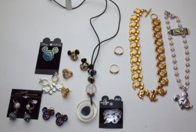 Disney Lot Of Jewelry