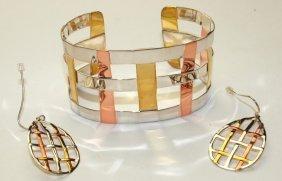Robert Lee Morris (rlm) Sterling Silver, Brass, And