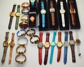 Joan Rivers Lot Of 27 Wrist Watches