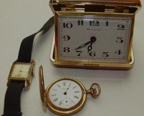 Excelsior Hunters Case Pocket Watch, 6s, No Crystal,