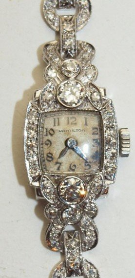 Hamilton Antique Lady's Diamond Watch
