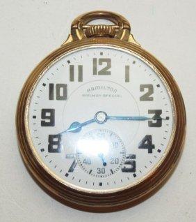 Hamilton Railway Special, 16s, Open Face Pocket Watch