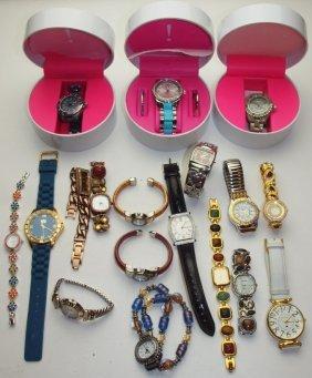 Lot Of 18 Ladies Wrist Watches